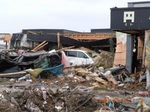 施設は津波で全壊、2週間後には間借りで再スタート