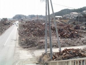 4月開所予定だった建物がすべて焼失しました