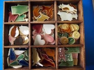 陶器箸置き画像
