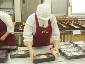 お弁当製造 画像